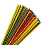 Dünne Strohhalme farbenfroh 100er Pack