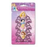 """Edle Kronen """"Disney Prinzessinnen"""" mit Haarkamm 4er Pack"""