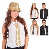 Edle Pailletten-Krawatte