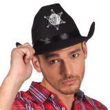 Edler Schwarzer Cowboyhut