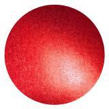 Einfarbige Kuchenplatte 25,5 cm-rot