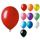 Einfarbige Luftballons 12er Pack