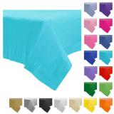 Einfarbige Papier-Tischdecke 137 x 274 cm-grau