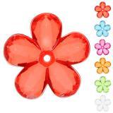"""Einfarbige Streuartikel """"Blumen"""" 10er Pack"""