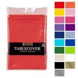 Einfarbige Tischdecke 137 x 274 cm-rosa