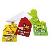 """Einladungskarten """"Angry Birds"""" mit Umschlag 6er Pack"""