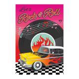 """Einladungskarten """"Rockin' the 50s"""" 8er Pack"""