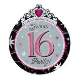 """Einladungskarten """"Sweet 16"""" mit Umschlag 8er Pack"""