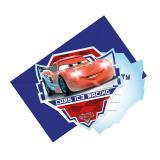 """Einladungskarten """"Aufregende Cars"""" 6er Pack mit Umschlag"""