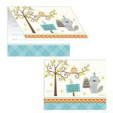 """Einladungskarten """"Geburtstag im Wald"""" mit Umschlag 8er Pack"""