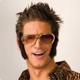Elvis-Brille mit Kotletten