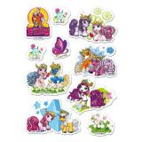 "Essbare Kuchen-Sticker ""Filly Fairy"" 10-tlg."