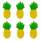 "Essbare Kuchendeko ""Ananas"" 6er Pack"