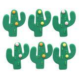 """Essbare Kuchendeko """"Kaktus"""" 6er Pack"""