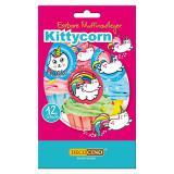 """Essbare Muffinaufleger """"Kittycorn"""" 12er Pack"""