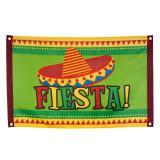 "Fahne ""Happy Fiesta"" 90 cm"