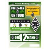 "Fan-Aufkleber-Set ""Borussia Mönchengladbach"" 5-tlg."