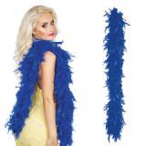 Federboa 180 cm-blau