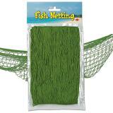 Fischernetz zur Dekoration 370 cm  x 120 cm-grün
