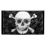 "Flagge ""Totenkopf des Grauens"" 150 x 90 cm"
