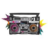"Folien-Ballon Ghettoblaster ""Freaky Fashion"" 88 cm"