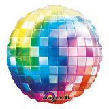 """Folien-Ballon """"Buntes Disco Fever"""" 81 cm"""
