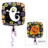 "Folien-Ballon ""Happy Halloween"" 43 cm"
