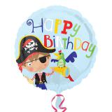 "Folien-Ballon ""Kleiner mutiger Pirat"" 43 cm"