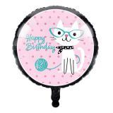 """Folien-Ballon """"Kleines Kätzchen Kitty"""" 44 cm"""