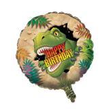 """Folien-Ballon """"Gefährliche Dinosaurier"""" 46 cm"""