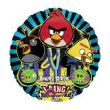 "Folien-Ballon mit Musik ""Angry Birds"" 71 cm"
