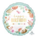"Folienballon ""Boho Birthday Girl"" 45 cm"