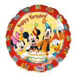 """Folienballon """"Geburtstag mit Micky und den Freunden"""" 43 cm"""