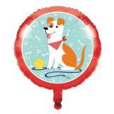 """Folienballon """"Hunde Party"""" 46 cm"""