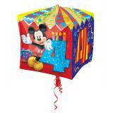 "Folienballon ""Micky Maus 4. Geburtstag"" 38 cm"