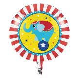 "Folienballon ""Niedliche Zirkus-Tiere"" 46 cm"