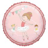 "Folienballon ""Primaballerina"" 43 cm"