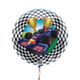 """Folienballon """"Schnelle Rennwagen"""" 45 cm"""