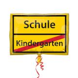 "Folienballon ""Schule Kindergarten"" 50 x 60 cm"