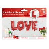 """Folienballon-Set """"Love"""""""
