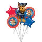 "Folienballon-Set ""Paw Patrol - Tierische Helden"" 5-tlg."