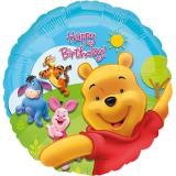 "Folienballon ""Sonniger Happy Birthday Winnie Puuh"" 43 cm"