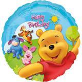 "Folienballon ""Sonniger Happy Birthday Winnie Puuh"" 43 cm"