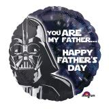 "Folienballon ""Star Wars - Galaktischer Vatertag""  43 cm"