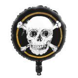 "Folienballon ""Totenkopf des Grauens"" 45 cm"
