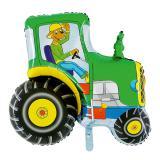 Folienballon Traktor 81 cm