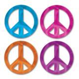 "Wanddeko ""Peace"" 8-tlg."