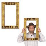 """Foto-Accessoire """"Wanted"""" 39 cm x 60 cm"""