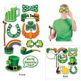"""Foto-Requisiten-Set """"St. Patrick's Day"""" 12-tlg."""
