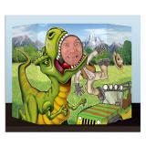 "Fotowand ""Dinosaurier-Park"" 94 x 64 cm"